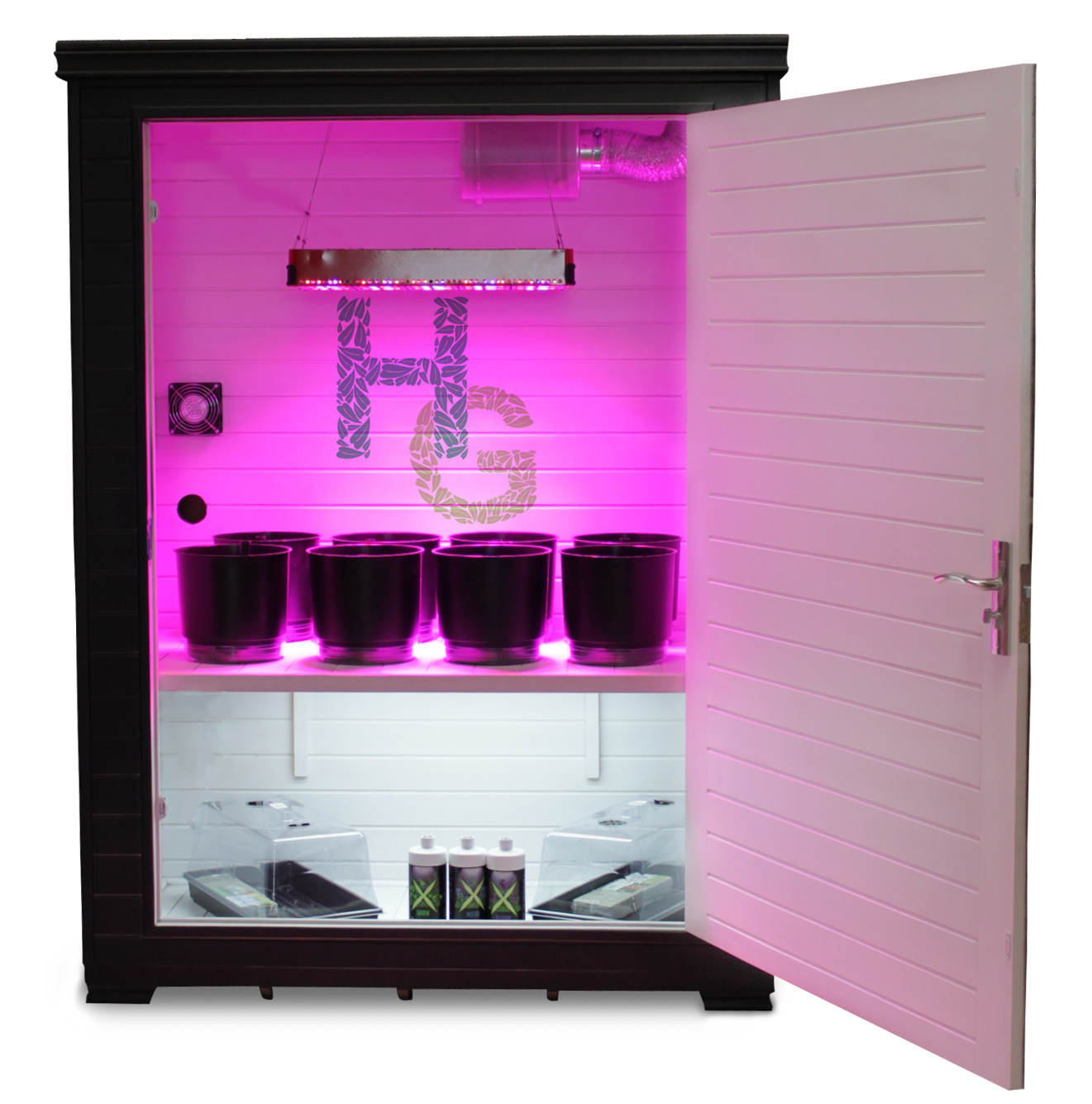 grow daddy led grow box led grow boxes from hydroponics group. Black Bedroom Furniture Sets. Home Design Ideas