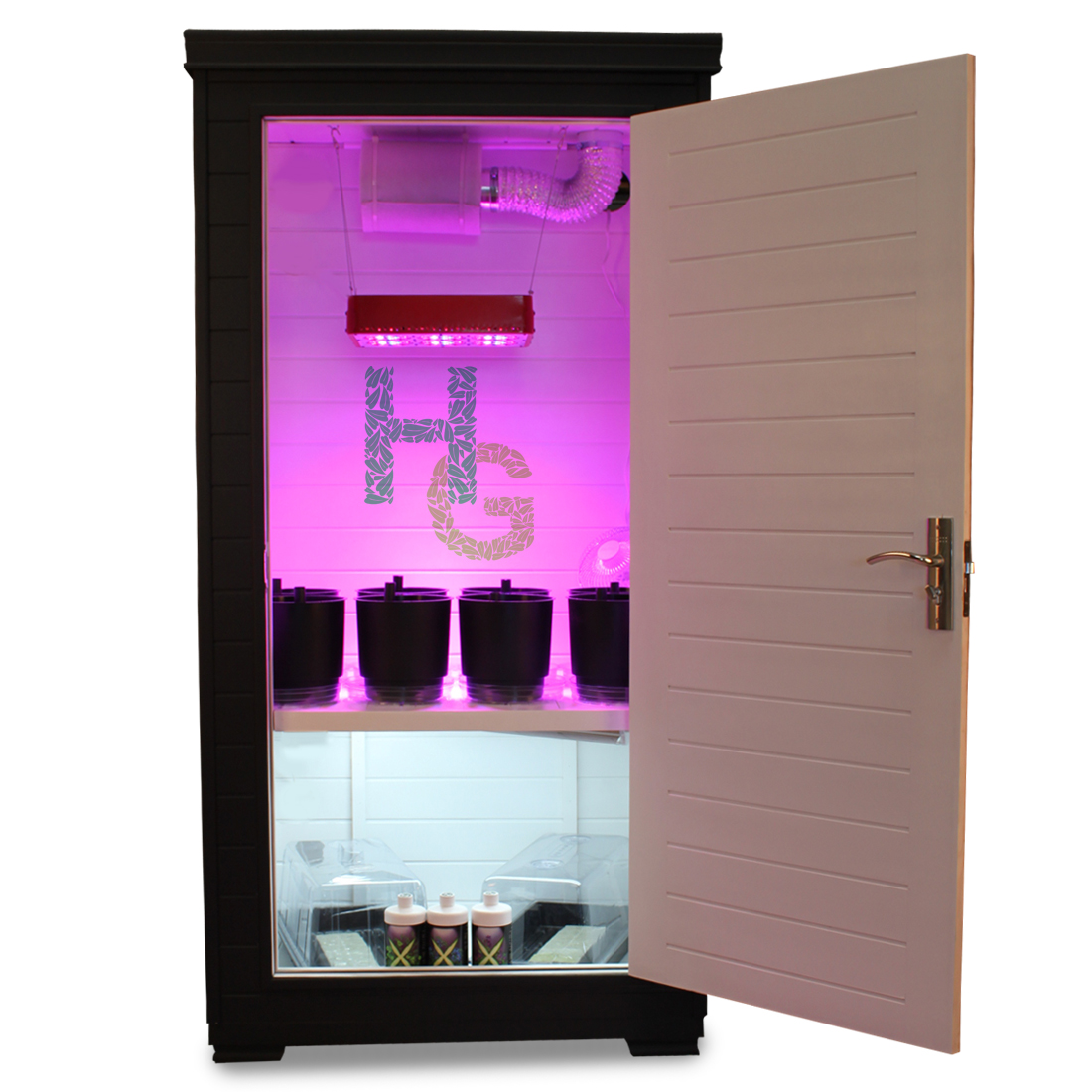 LED Grow Boxes From Hydroponics Group