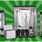 Bad Boy Triple Threat 148x148 CFL Hydroponics Starter Kit    from Hydroponics Group